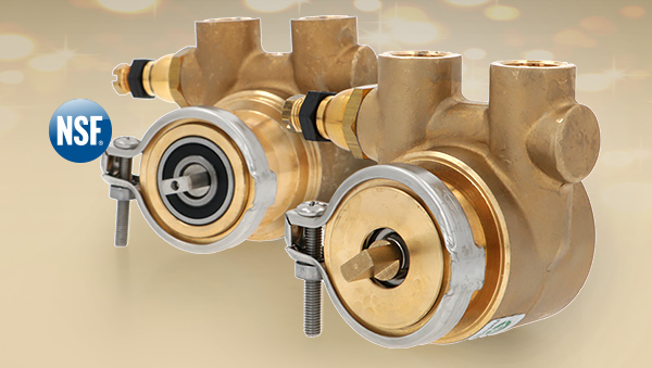 Volumetric pump Fluid O Tech - Eco-Brass version